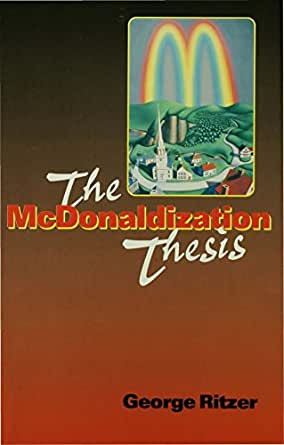 Crosstalk mcdonaldization essay