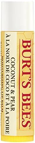 Burt's Bees Balsamo per le labbra, Cocco e pera, 1 pezzo