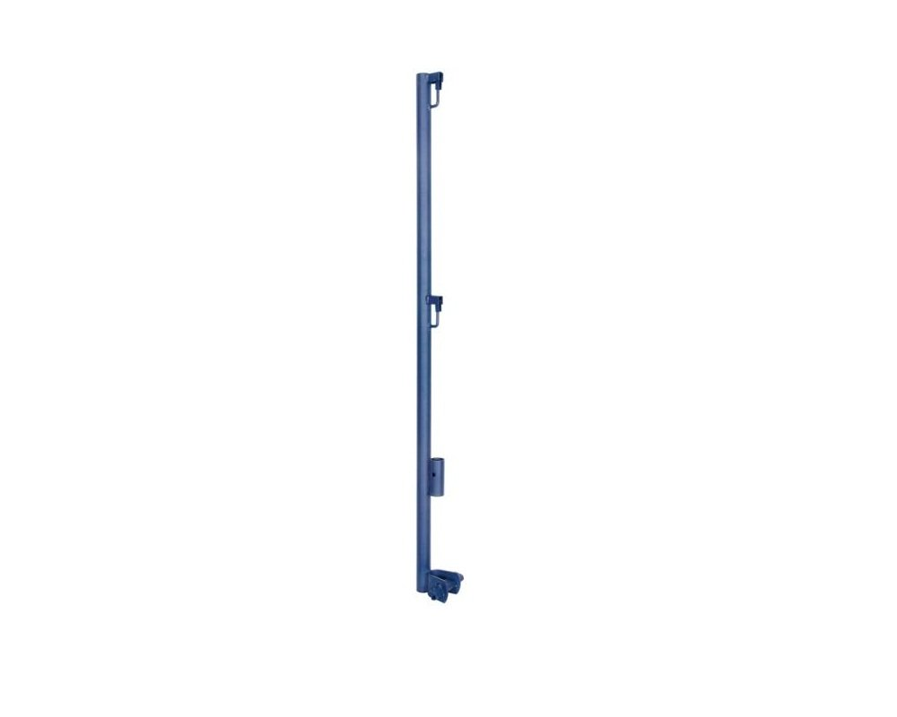 Metaltech Guard Rail Post with Support, Model# M-MGPUSL