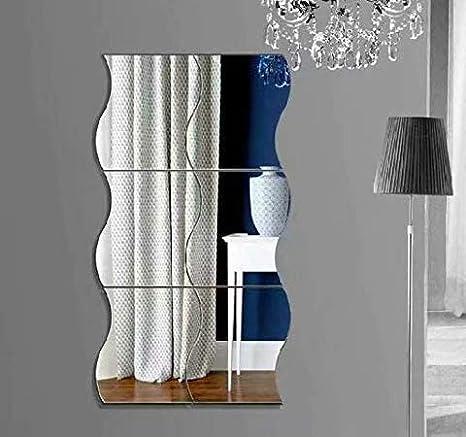 Specchio acrilico rimovibile per camera da letto decorazione domestica soggiorno cameretta