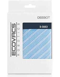Ecovacs D-S663 Robot vacuum Mop pad accesorio y suministro de vacío - Accesorio para aspiradora (Robot vacuum, Mop…