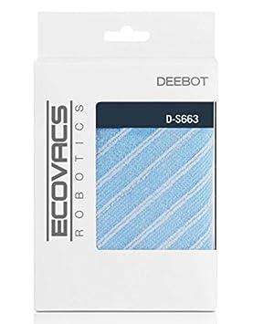 Ecovacs D-S663 Robot vacuum Mop pad accesorio y suministro de vacío - Accesorio para