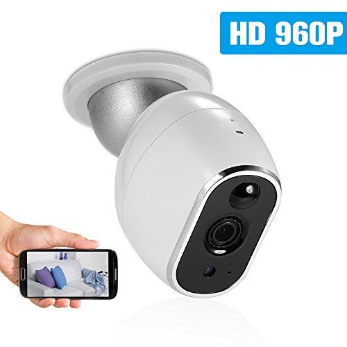OWSOO Wireless Security IP Camera Pet/Baby/Parents/Home Monitor 960P 1.3 Megapixel WiFi Camera 2-way Audio & Night Vision Phone APP Motion Detection Security Camera by OWSOO
