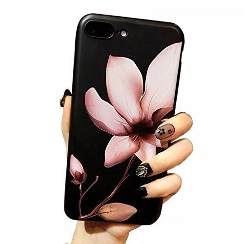 Urberry Iphone 7 Case, Beautiful Floral Case for Iphone 7 with a Screen Protector (JDTX07)