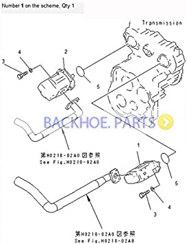 bobcat 863 hydraulic pump diagram amazon com for komatsu wheel loader wa420 3 wa400 3 hydraulic  komatsu wheel loader wa420 3 wa400 3