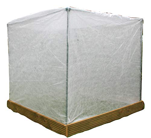 Extra Large Warming Plant FROST PROTECTION Fleece Garden Cover XL 1.35m x 1.35m x 1.5m high Thick and Strong GardenSkill