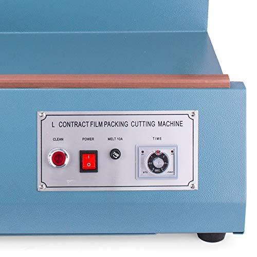 Mophorn FQL-380L L-Bar Sealer 800W L-Bar Shrink Wrap Sealer Cutting Size 20 x 13.8 Inch L-Bar Sealer Machine for Home Commercial Use by Mophorn (Image #4)