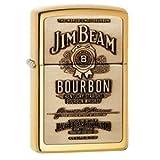 Zippo Manufacturing Genuine Brass Jim Beam Lighter