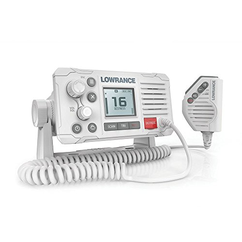 Lowrance Link-6 VHF Radio with DSC (White)