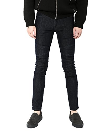 wiberlux-neil-barrett-mens-paneled-skinny-fit-jeans-29-black