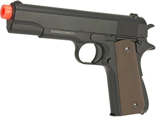 Evike JG Heavyweight 1911 Full Size Airsoft Spring Pistol w/Metal Slide - (67809)