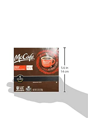 McCafé Premium Roast K-Cup Packs, 6.2 oz - 18 count