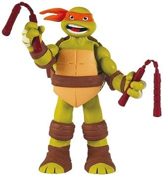 Tortugas Ninja - Figura con Sonido: Michelangelo, 15 cm ...