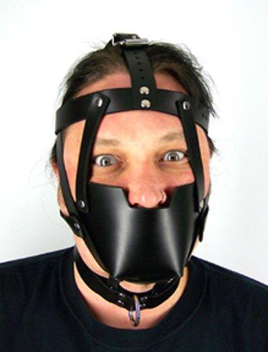 Leather Bondage Hood