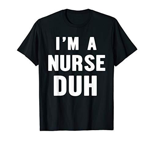 Easy Halloween Nurse Costume Shirt for Men Women Kids]()