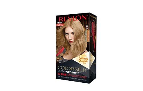 Revlon Colorsilk Buttercream Hair Dye, Light Natural Blonde, 1 Count