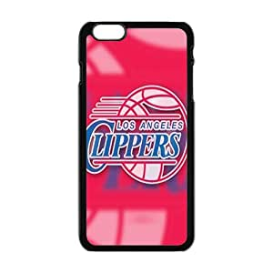 Los Angeles Clippers NBA Black Phone Case for iPhone plus 6 Case
