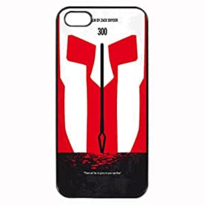 My 300 Minimal Movie Design Pattern Hard Back Case Cover Skin For Apple iPhone 5S