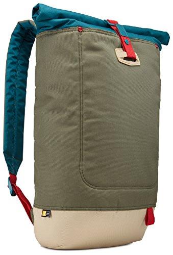 "Mochila Case Logic Larimer Rolltop Backpack para Notebook até 14"" - LARI114PTG"