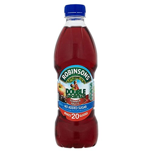 Robinsons Double Concentrate No Added Sugar Summer Fruits (500ml)