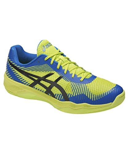 Asics Volley Elite FF, Scarpe da Pallavolo Uomo blau / gelb (956)