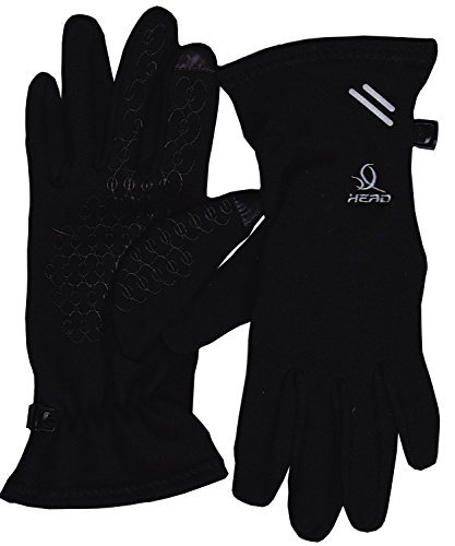 Head: Multi-Sport S Gloves with SensaTEC, Asphalt (Black-Medium)