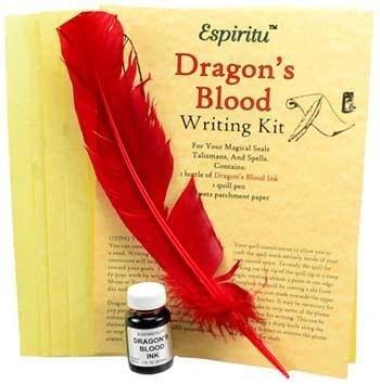 Dragon's Blood Spell Writing Kit