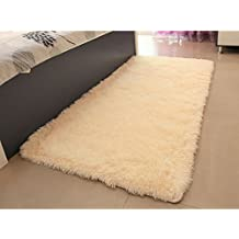 Popular Bedroom Floor Mat Nonslip Shaggy Blanket Sofa Cover Fashion Mat Cushion