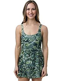 Womens One Piece Swim Dress