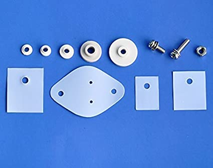 TO-247 Mica Insulator with Nylon Bushing and Nut /& Bolts for Transistor