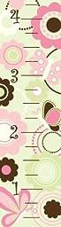 WallPops Butterfly Garden Growth Chart Wall Decals