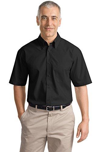 Port Authority Men's Short Sleeve Value Poplin Shirt XXL (Value Poplin Shirt)