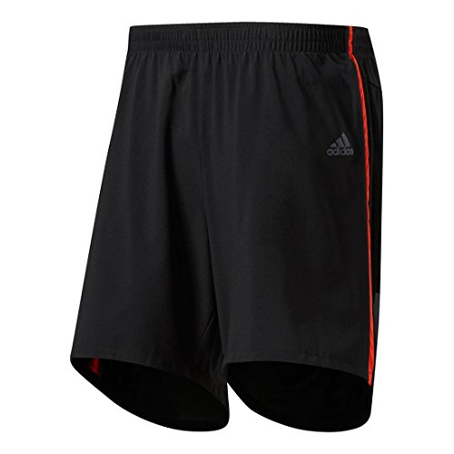 Adidas Mens Running Response Shorts  Black Collegiate Royal  Medium 7