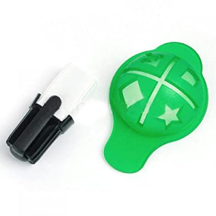 amazon com golf ball marker pen and template waterproof sports