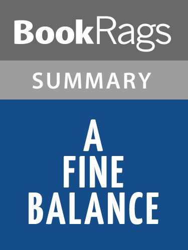 Summary & Study Guide A Fine Balance by Rohinton Mistry