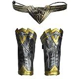 Wonder Woman Costume Cuffs Gauntlets And Tiara Set