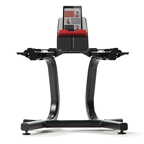 Ergonomically designed to help protect your lower back by reducing the need to bend down to pick up heavy weights. The new Bowflex® SelectTech® Stand comes with a built-in media rack with Teflon® grip material, so you can easily access traini...