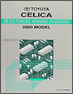2000 Toyota Celica Wiring Diagram Manual Original: Toyota: Amazon.com: BooksAmazon.com