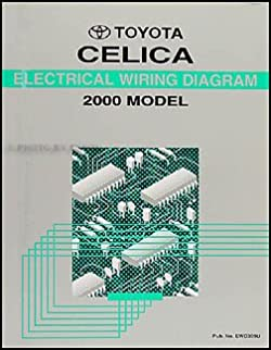 2000 toyota celica wiring diagram manual original toyota amazon rh amazon com toyota celica 2000 radio wiring diagram 2000 celica gts factory amp wiring diagram