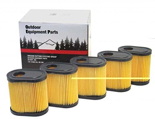 Oregon 30-817 Lawn Mower Air Filters (5 Pack)