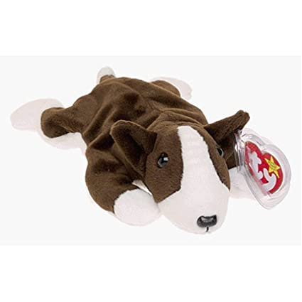 324095af517 Amazon.com  Ty Beanie Babies - Bruno the Dog - Retired  Toys   Games
