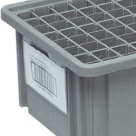Quantum Storage Systems, Snap-On Card Holders, Hlbl5X8, Fits Containers: H92080, H93080, H93120, Lbl5X8