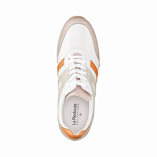 La Redoute Collections Frau Sneakers IM Retrostyle Gre 40 Weiss