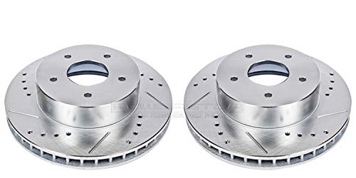 - Power Stop AR8210XPR Front Evolution Drilled & Slotted Rotor Pair