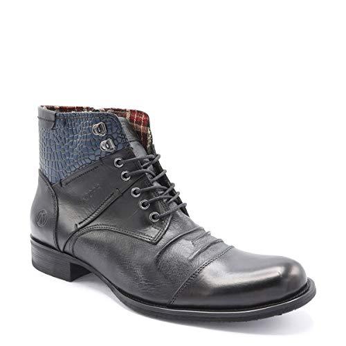 1 Kdopa Hommes Noir 40 ANTIGONE Boots v16qtw1x