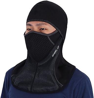 Máscara de la Cara Completa Cubierta Pasamontañas Ciclismo al Aire ...