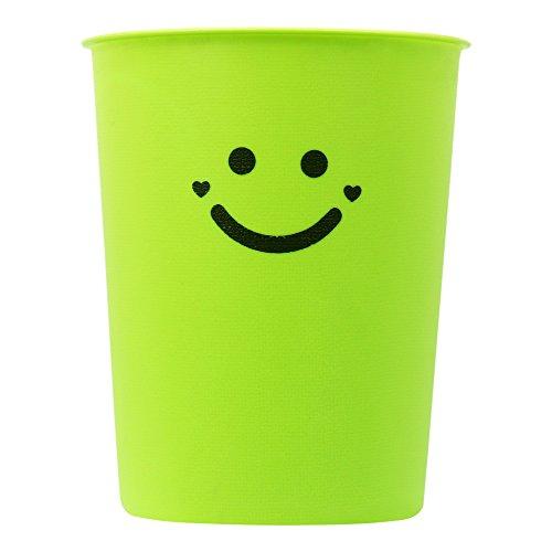 Domi Green (1.5 Gallon Garbage Trash Can Wastebasket)
