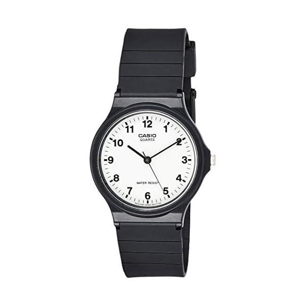 Casio Reloj Analógico para Hombre de Cuarzo con Correa en Resina MQ-24-7BLLGF 41IjNK2E6pL