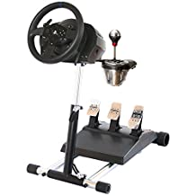 TX Deluxe Racing Steering Wheelstand for Thrustmaster T300RS(PS4) TX458(Xbox One)TX Leather,T150 and TMX! Original Wheel Stand Pro Stand V2. Wheel and Pedals Not included