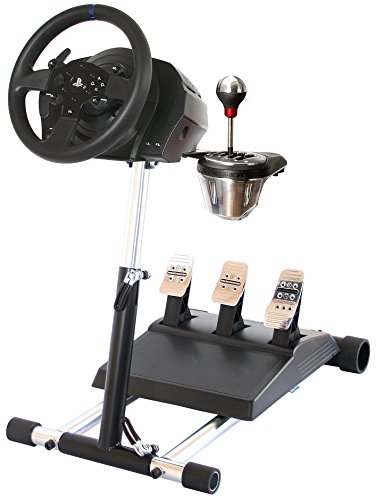 TX Deluxe Racing Steering Wheelstand for Thrustmaster T300RS(PS4) TX458(Xbox One)TX Leather,T150, GT and TMX/TMXPRO! Original Wheel Stand Pro Stand V2. Wheel and Pedals Not included
